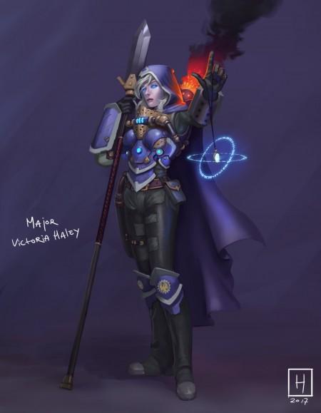 Major Victoria Haley_fanart_01