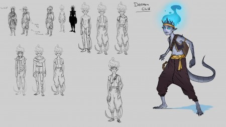 Character sketches_The Child_01